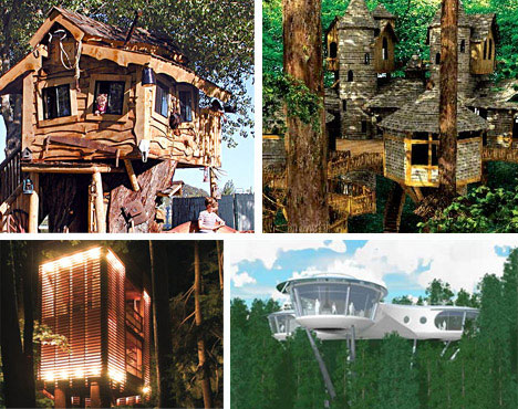10 amazing tree houses plans pictures designs ideas for Amazing house pictures