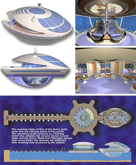 Amazing Marine Portible Living System