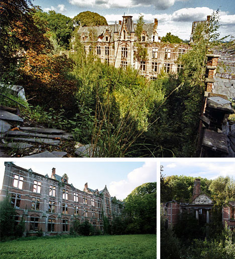 Belgium Historical Abandoned Castle Photographs