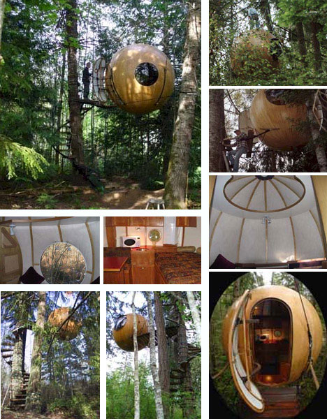 10 amazing tree houses plans pictures designs ideas for Creative home designs