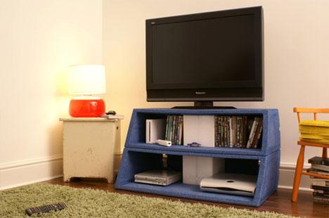 Creative Convertable Television Stand Design