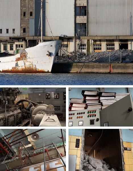 Denmark Abandoned Refrigeration Factory Building