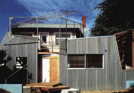 Frank Gehry Deconstructivist House Santa Monica