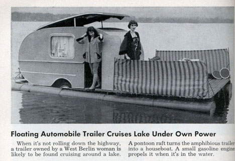 Funny Vintage Classic Houseboat Commercial