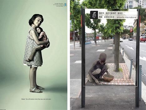 uerilla Humanitarian Advertisement