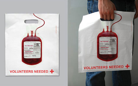 Guerilla Red Cross Blood Donations