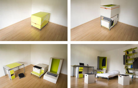 convertable furniture. incredible room in a box furniture set convertable u