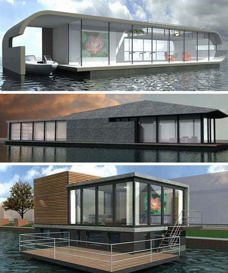 17 Extreme Real Houseboats & House Boat Design Ideas | Urbanist