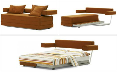 Transformer Bed Sofa Combination Furniture