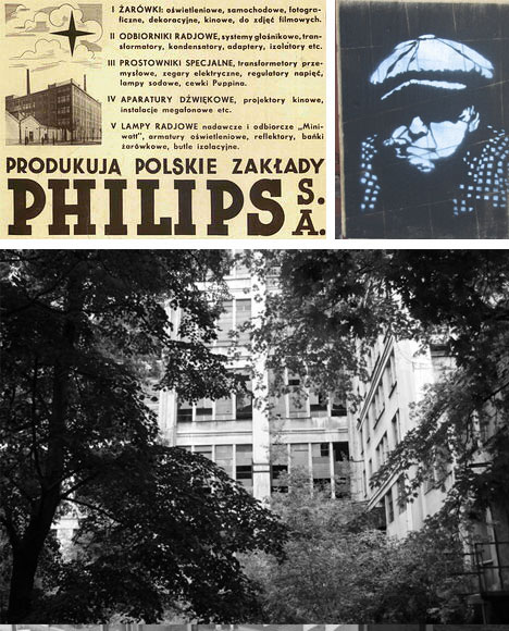 Warsaw Poland Abandoned Lightbulb Factory Building