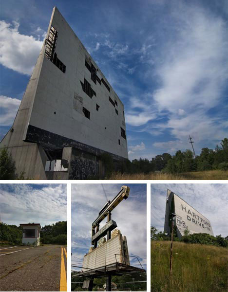 Abandoned Drive In Theater