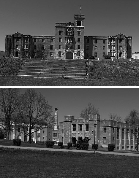 Abandoned Military Academy Buildings