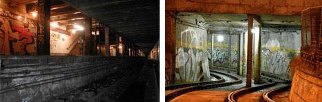 Abandoned Paris Metro Subway Stations