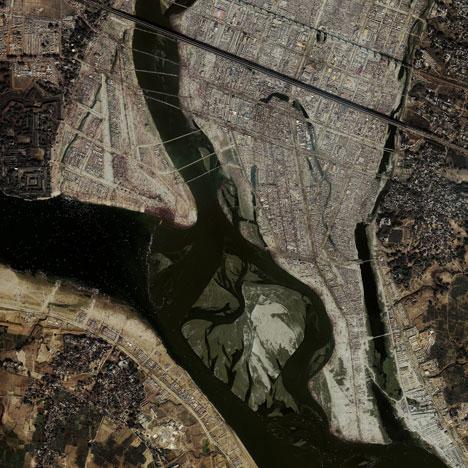 Aerial Pilgrimage Photo