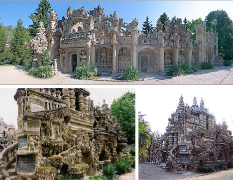 Bizarre Spanish Homemade Castle Building