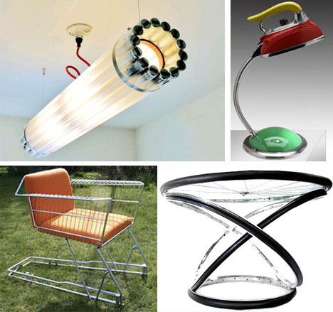 Extreme upcycling creative recycled art architecture for Waste material products