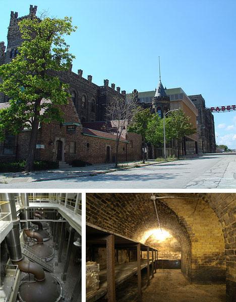 Deserted Beer Brewery Buildings