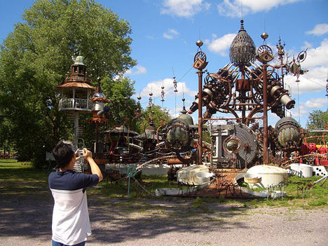 Foreverton Wisconsin Scrap Metal Architecture