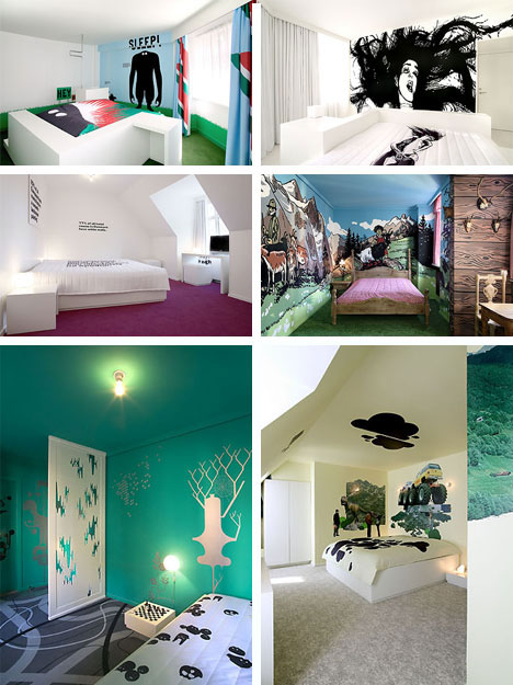 Fox Creative Art Hotel Rooms