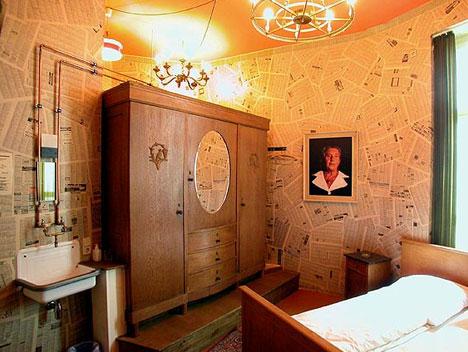 Grandma Hotel Room Interior