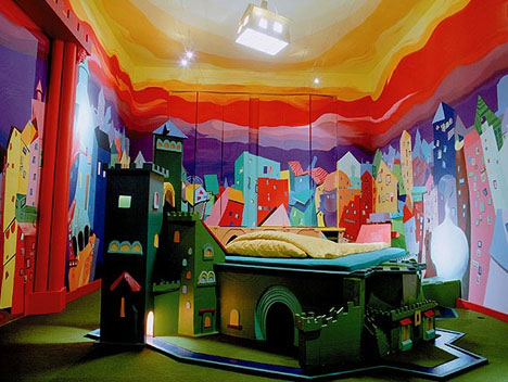 Kids Fortress Hotel Room