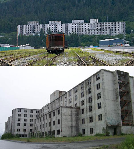 Largest Abandoned Building Alaska