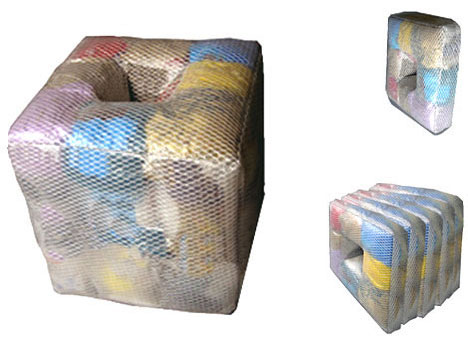 Recycled Clothing Furniture