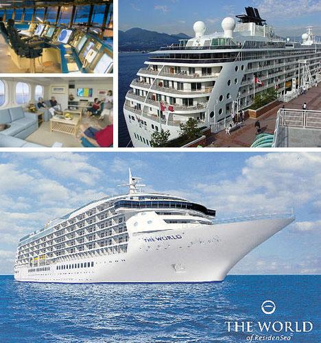 Residensea Floating Cruise Ship Condos