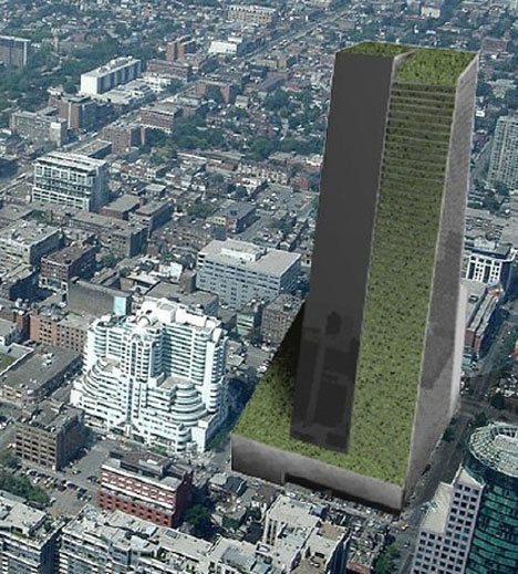 3D City Farms 5 Urban Design Proposals for Green Towers