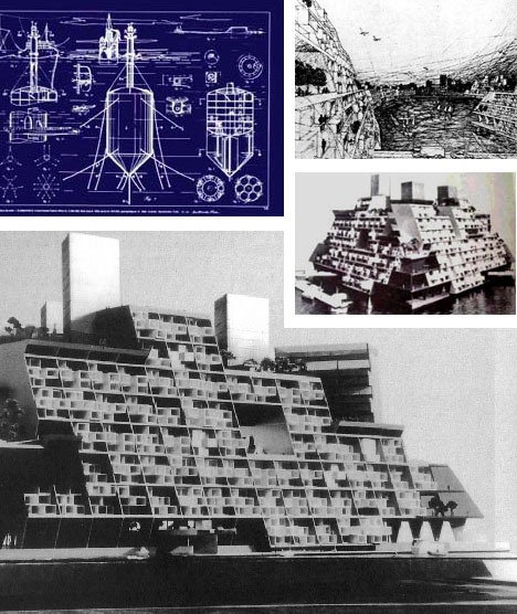 Triton Floating City Project Buckminster Fuller