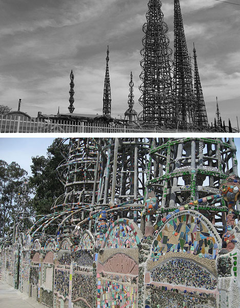 Off the walls 5 wild works of insane architectural genius for Salvaged building materials los angeles