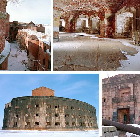 Abandoned Island Fortress