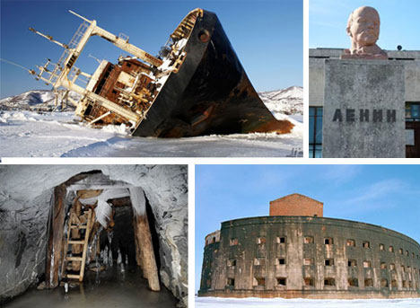 Abandoned Soviet Structures