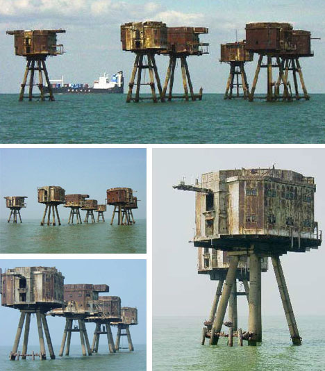 Army Sea Forts