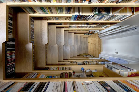 20 Unusually Brilliant Bookcase and Bookshelf Designs: Creative ...