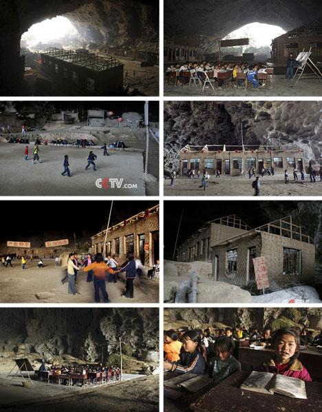 cave school