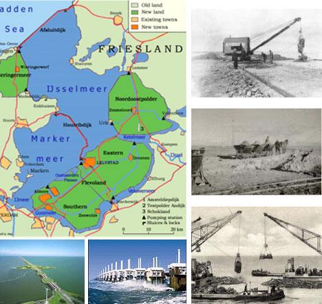 Dutch Dam Construction