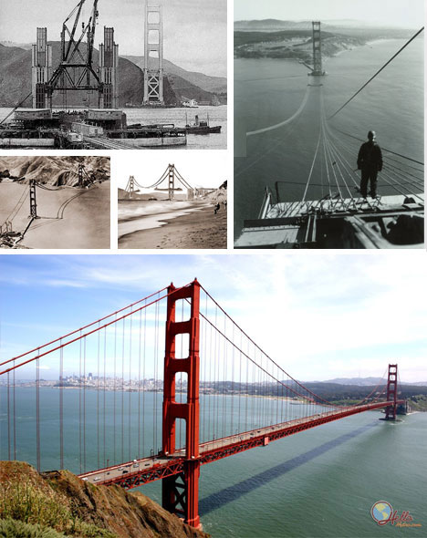 Historic Golden Gate Bridge