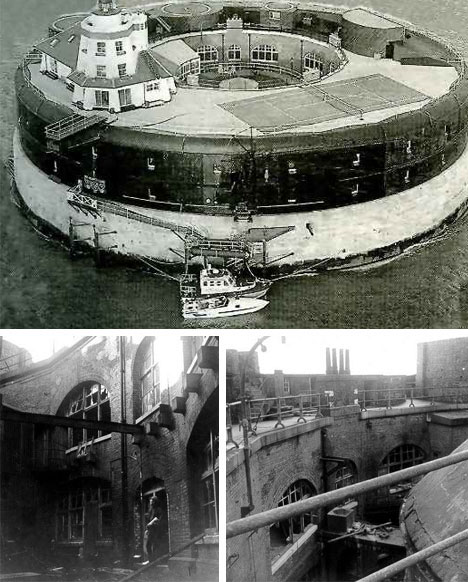 Historic Navy Sea Forts