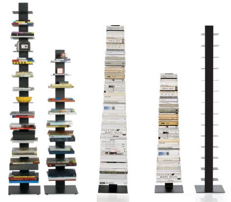 Invisible Bookcase Stack