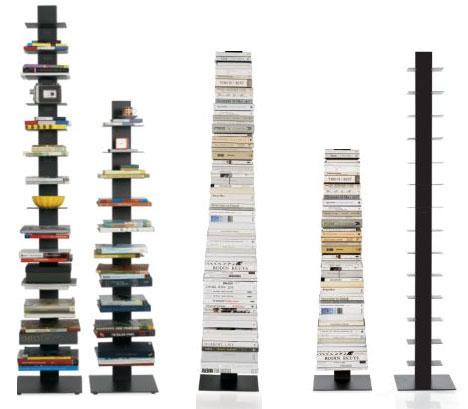 Invisible Bookcase Stack