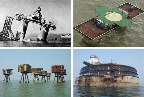 Military Sea Forts