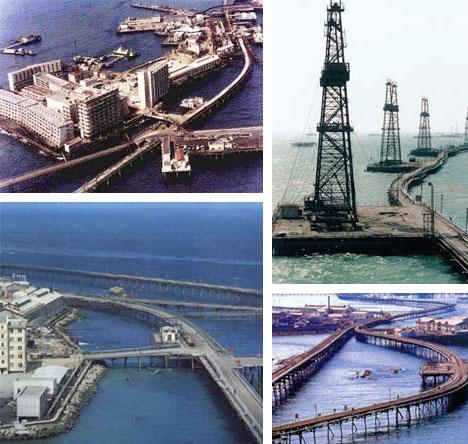 Russian Oil Rig City