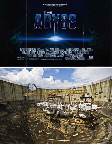 The Abyss Film Set