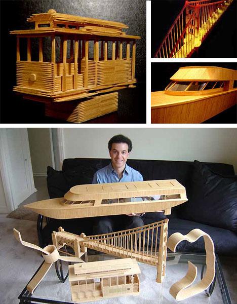 Toothpick Model Art