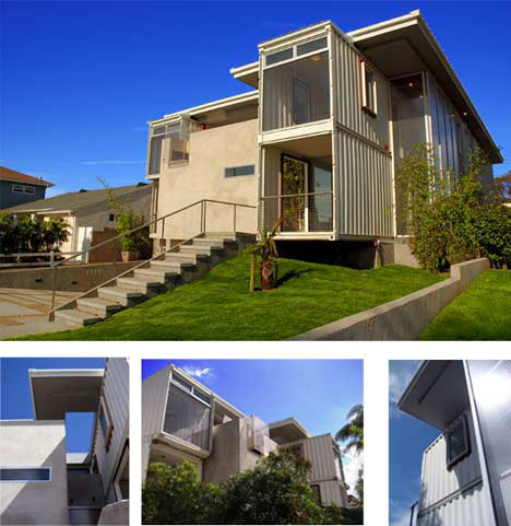 Cargo architecture 10 shipping container homes offices urbanist - Container homes california ...