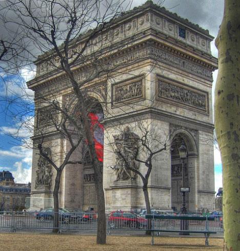 L`arc de Triomphe