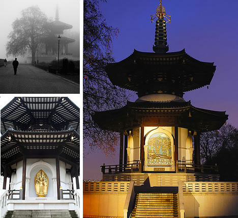 London Peace Pagoda - Battersea Park