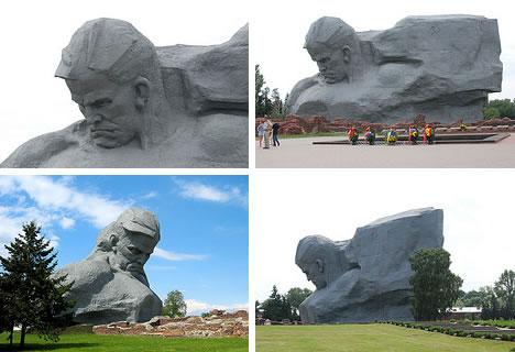 Brest Fortress Monument - Huge Figure