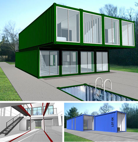 Shipping container architecture designs home decorating for Containers house design